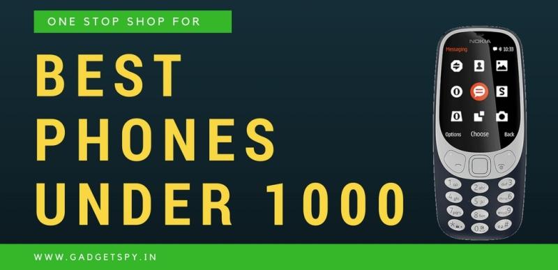 10 Best Keypad Mobile Phones Under Rs 500 Rs 1000 In