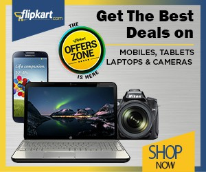 Flipkart Mobile, Laptops, Cameras Offers