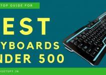 De 5 bedste tastaturer under 500 kr. I Indien |  Juni 2021